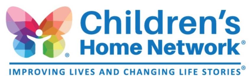 We're proud sponsors of Children's Home Network